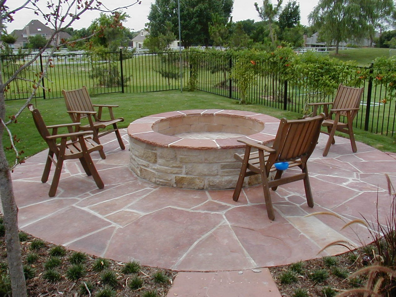 Garden Design With Backyard Fire Pit Patio Ideas Mystical Designs And Tags  With How To Build